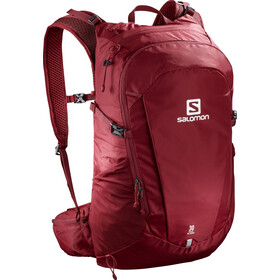 Salomon Trailblazer 30 Backpack biking red/ebony